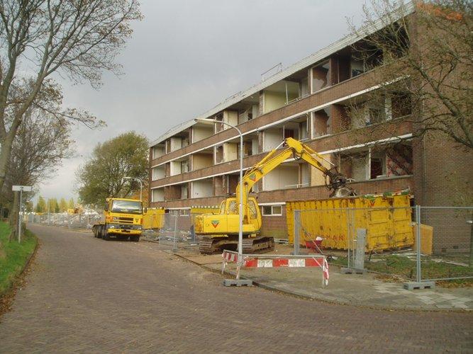 Sloop bebouwing Delftlaan Haarlem Noord   haarlemnoord.com Aandeel Facebook