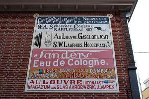 Muurreclame-Hoogstraat